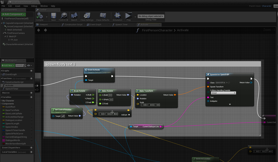 Retro voice acting system in unreal engine 4 i perform a linetrace whenever i click when i hit something i check if the target has a dialoguecomponent attached to it make sure i keep track of what malvernweather Gallery